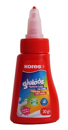 PEGAMENTO BLANCO KORES GLUKIDS, 30 gr