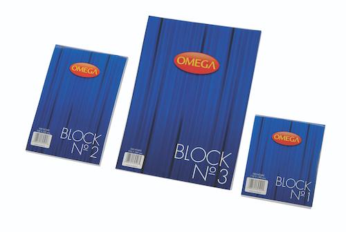 BLOC OMEGA 13X20 PAPEL ALCALINO 100 HOJAS