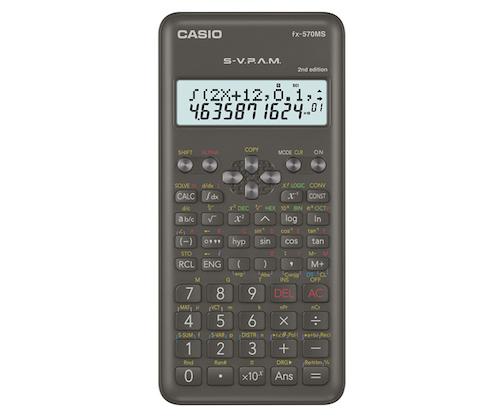 CALCULADORA CASIO FX-570