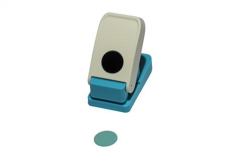 PERFORADORA DE 25 mm, P/MATERIALES ESPECIALES. FORMA DE CÍRCULO