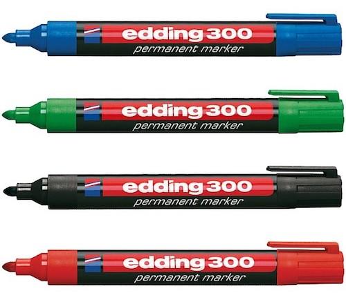 MARCADOR PERMANENTE EDDING 300